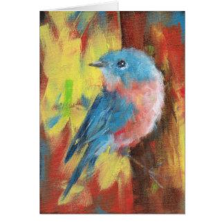 Bluebird - Notecard