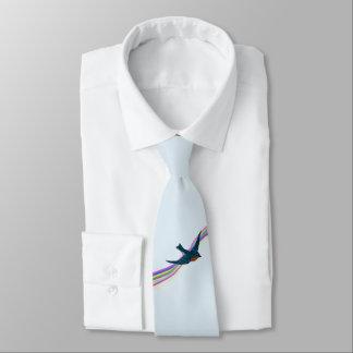 Bluebird of Happiness Tie