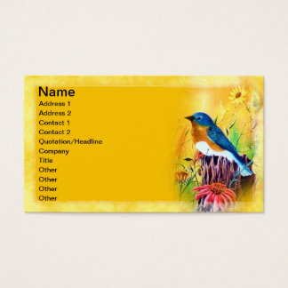 Bluebird Painting Business Cards