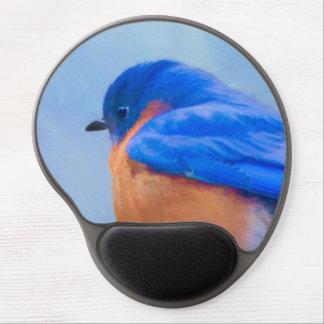Bluebird Painting - Original Bird Art Gel Mouse Pad