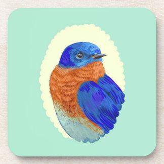 Bluebird Retro Cameo Coasters