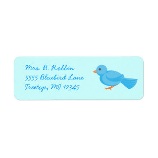 Bluebird Return Address Labels