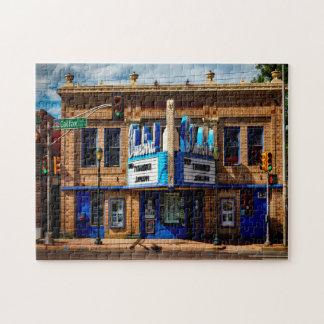 Bluebird  Theater Denver. Jigsaw Puzzle