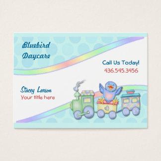 Bluebird Train Business Card