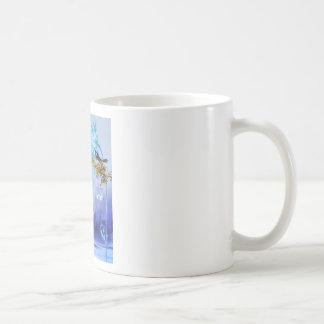 Bluebirds Blue Pond Birds Classic White Coffee Mug