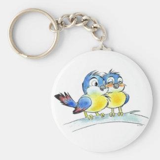 Bluebirds key chain