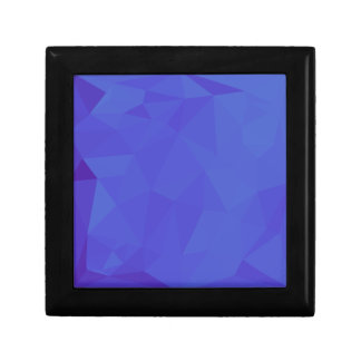 Bluebonnet Abstract Low Polygon Background Gift Box