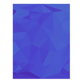 Bluebonnet Abstract Low Polygon Background Postcard