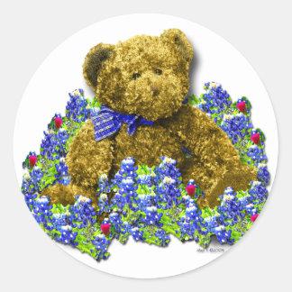 Bluebonnet Bear Sticker