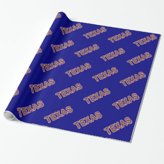 Bluebonnet Texan Wrapping Paper