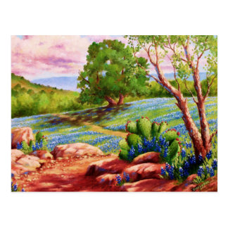 Bluebonnet Trail Postcard