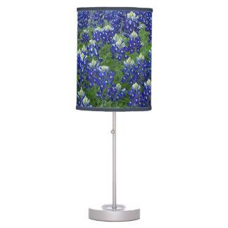 Bluebonnets Field Floral Lamp
