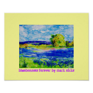 bluebonnets forever posters