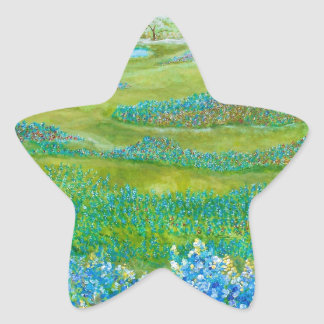 Bluebonnets Star Sticker