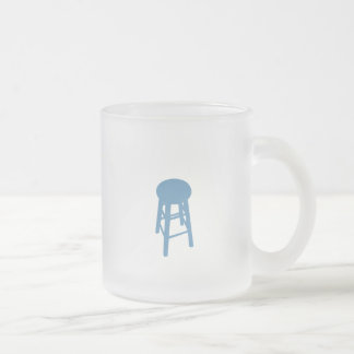 Bluechair Chronicles Frosted Glass Coffee Mug