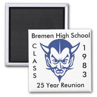 BlueDevil, CLASS, 1983, Bremen High School, 25 ... Magnet