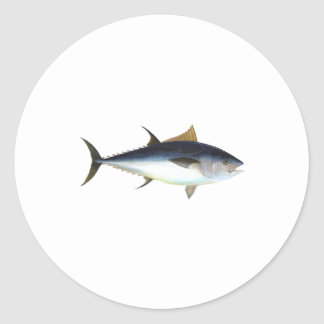 Bluefin Tuna Classic Round Sticker