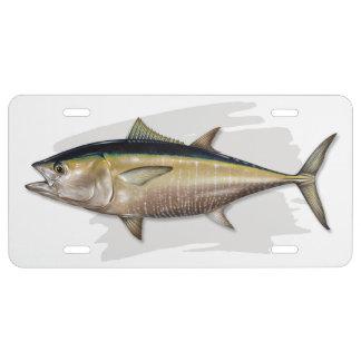 Bluefin Tuna License Plate