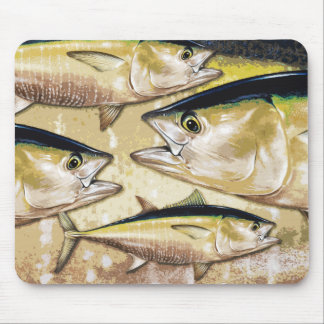 Bluefin Tuna Mouse Pad