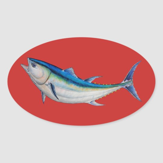 bluefin tuna sticker