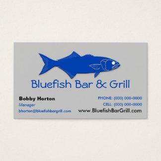 Bluefish Bar & Grill Business Card