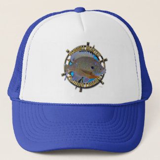 Bluegill fishing legend trucker hat