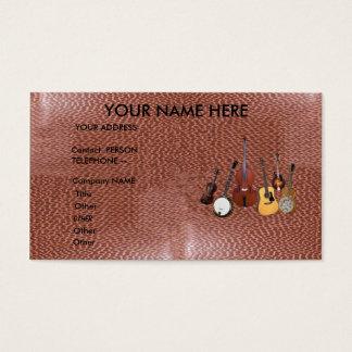 BLUEGRASS BAND-BUSINESS CARD