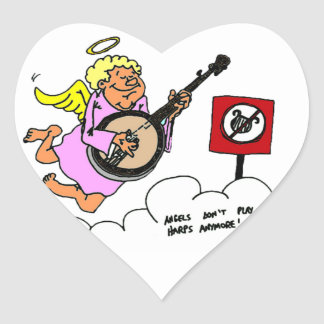 Bluegrass Banjo Humor Stickers