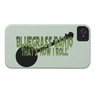 Bluegrass Banjo. That's How I Roll Case-Mate iPhone 4 Case