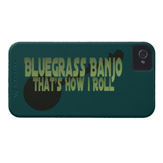 Bluegrass Banjo. That's How I Roll iPhone 4 Case-Mate Case