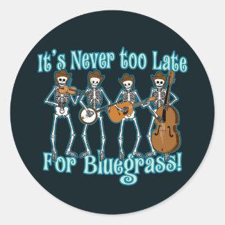 Bluegrass Beyond Classic Round Sticker