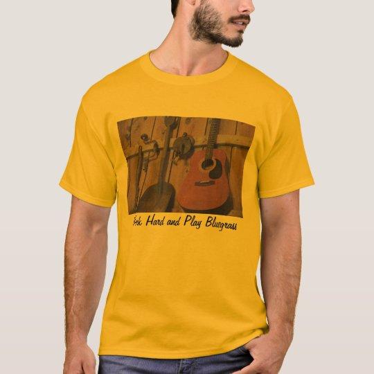 Bluegrass guitar tool set T-Shirt