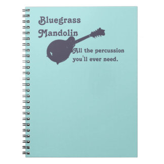 Bluegrass Mandolin - All the Percussion You Need Notebooks