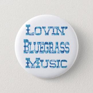 Bluegrass Music 2 Inch Round Button