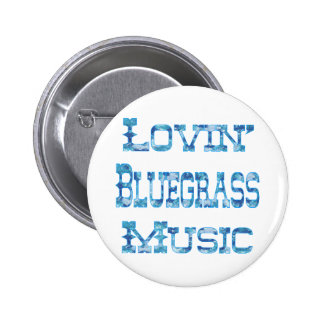 Bluegrass Music 2 Inch Round Button