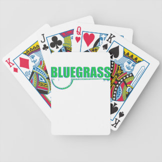 Bluegrass Music Bicycle Playing Cards