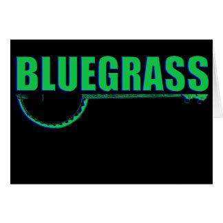 Bluegrass Music Card