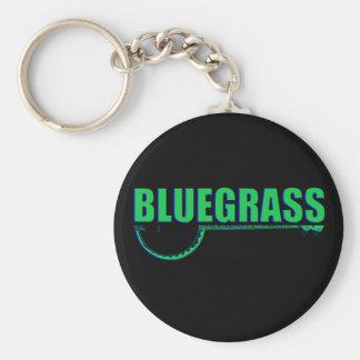 Bluegrass Music Keychain