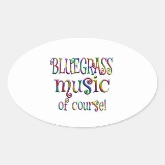 Bluegrass of Course Oval Sticker