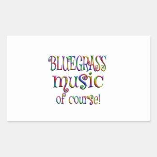 Bluegrass of Course Sticker