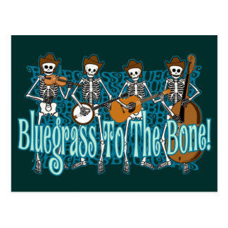 Bluegrass To The Bone! Postcard