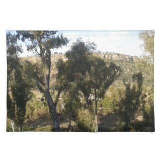 Bluegum Trees Placemat