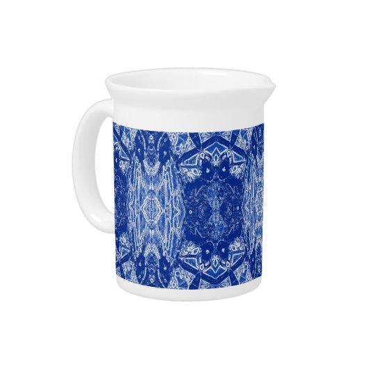 BlueHarp© 19oz Porcelain Pitcher