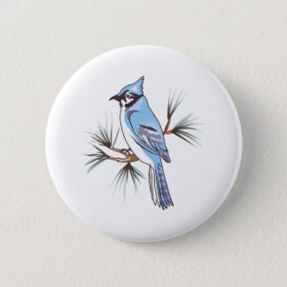 BLUEJAY 2 INCH ROUND BUTTON