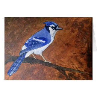 Bluejay Love and Delight Christian Card