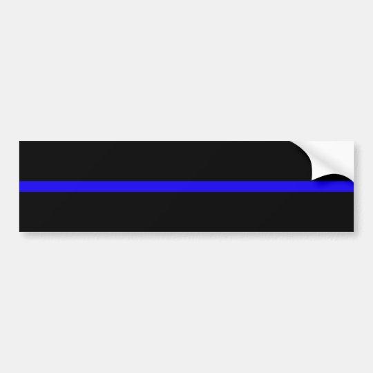 blueline bumper sticker