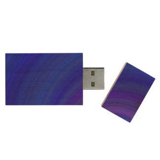Blueness Wood USB 3.0 Flash Drive