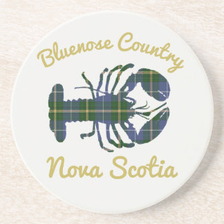 Bluenose Country N.S. Tartan Lobster coaster