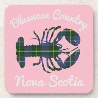 Bluenose Country N.S. Tartan Lobster coaster set