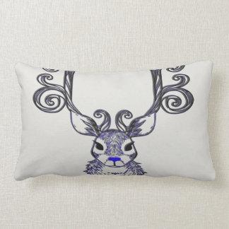 Bluenoser Blue nose Reindeer cute deer  pillow